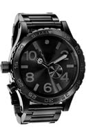 Nixon The 51-30 Mens Bracelet Watch - Lyst