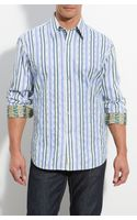 Robert Graham Oasis Striped Sport Shirt - Lyst