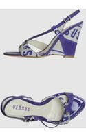 Versus  Wedge - Lyst
