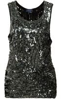 Gryphon Sequin Tank - Lyst