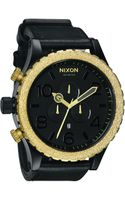 Nixon The 51-30 Chrono - Raw Gold Watch - Lyst