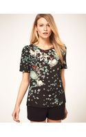 Oasis Botanical Placement Tee - Lyst