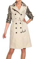 Burberry Westhaven Cotton Gabardine Trench Coat - Lyst