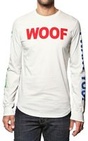 DSquared2 Woof Print Cotton Jersey T-shirt - Lyst