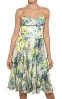 Erdem Chiffon with Sequin Appliqué Dress - Lyst