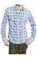 Pringle of Scotland Cotton Poplin Shirt - Lyst