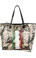 Collection Privée Printed Coated Canvas Tote - Lyst