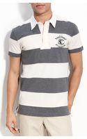 Dolce & Gabbana Rugby Stripe Polo - Lyst