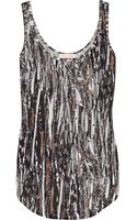 Sass & Bide Beauty From Within Printed Silk-jersey Tank - Lyst