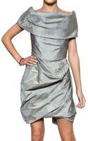 Vivienne Westwood Peony Print Taffeta Dress - Lyst