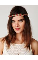 Free People Sadie Suede Headband - Lyst
