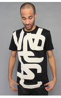 Wesc The Overlay Biggest Tee in Black - Lyst