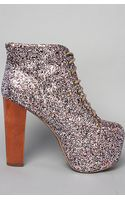 Jeffrey Campbell The Lita Shoe in Multi Glitter - Lyst