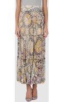 Class Roberto Cavalli Long Skirts - Lyst