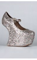 Jeffrey Campbell The Night Walk Shoe in Multi Glitter - Lyst