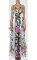 Roberto Cavalli Long Dresses - Lyst