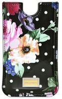 Dolce & Gabbana Patent Iphone Case Tech Accessory - Lyst