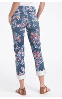 Citizens Of Humanity Mandy High Waist Slim Leg Floral Print Jeans - Lyst