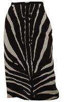 Michael Kors Pencil Zebra Print Skirt - Lyst