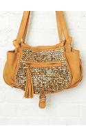 Free People Studded Jessi Satchel - Lyst