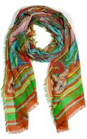 Matthew Williamson Escape Multicolor Print Scarf - Lyst