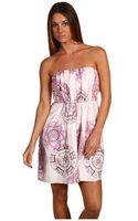 Tibi Strapless Dress - Lyst