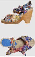 Strategia Platform Sandals - Lyst