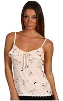 Juicy Couture Cami with Ruffle and Lace - Lyst