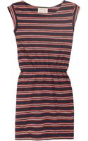 Aubin & Wills Haslemere Striped Cotton-jersey Dress - Lyst