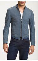 Dolce & Gabbana Leather Biker Jacket - Lyst
