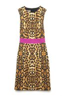 Giambattista Valli Leopard Sleeveless Dress - Lyst