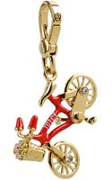 Juicy Couture Bike Charm - Lyst