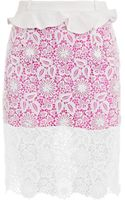 Preen By Thorton Bregazzi Tilly Skirt - Lyst