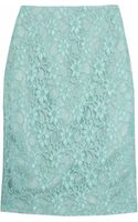 Helene Berman Lace Pencil Skirt - Lyst