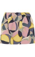 Marni Wool-crepe Mini Skirt - Lyst