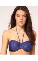 Seafolly Shimmer U Bandeau Bikini Top - Lyst