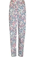 Cacharel Floral Printed Trousers - Lyst