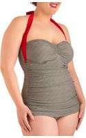 ModCloth Coupe Of Tea One Piece Plus Size - Lyst