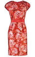 Giambattista Valli Printed Dress - Lyst