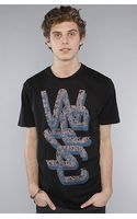 Wesc The Overlay Human Disorder Tee in Black - Lyst
