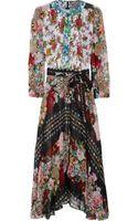 Duro Olowu Ometa Printed Georgette Dress - Lyst