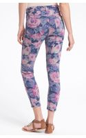 Joe's Jeans The High Water Fit Print Crop Skinny Jeans - Lyst