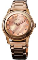 Breil Orchestra Crystal Rose Gold Bracelet Watch - Lyst