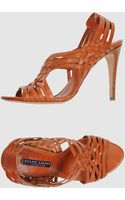 Ralph Lauren Collection High-Heeled Sandals - Lyst
