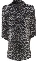Jane Norman Leopard 34 Shirt - Lyst