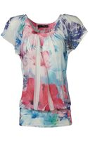 Jane Norman Tropical Sublimation Top - Lyst