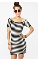 Nasty Gal Drew Stripe Dress - Lyst