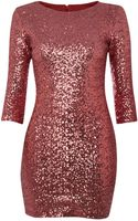 Tfnc All Over Glitter Dress - Lyst