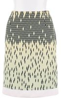 Versus  Multicolored Printed Crepe Skirt - Lyst