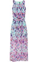 W118 By Walter Baker Lola Printed Chiffon Dress - Lyst